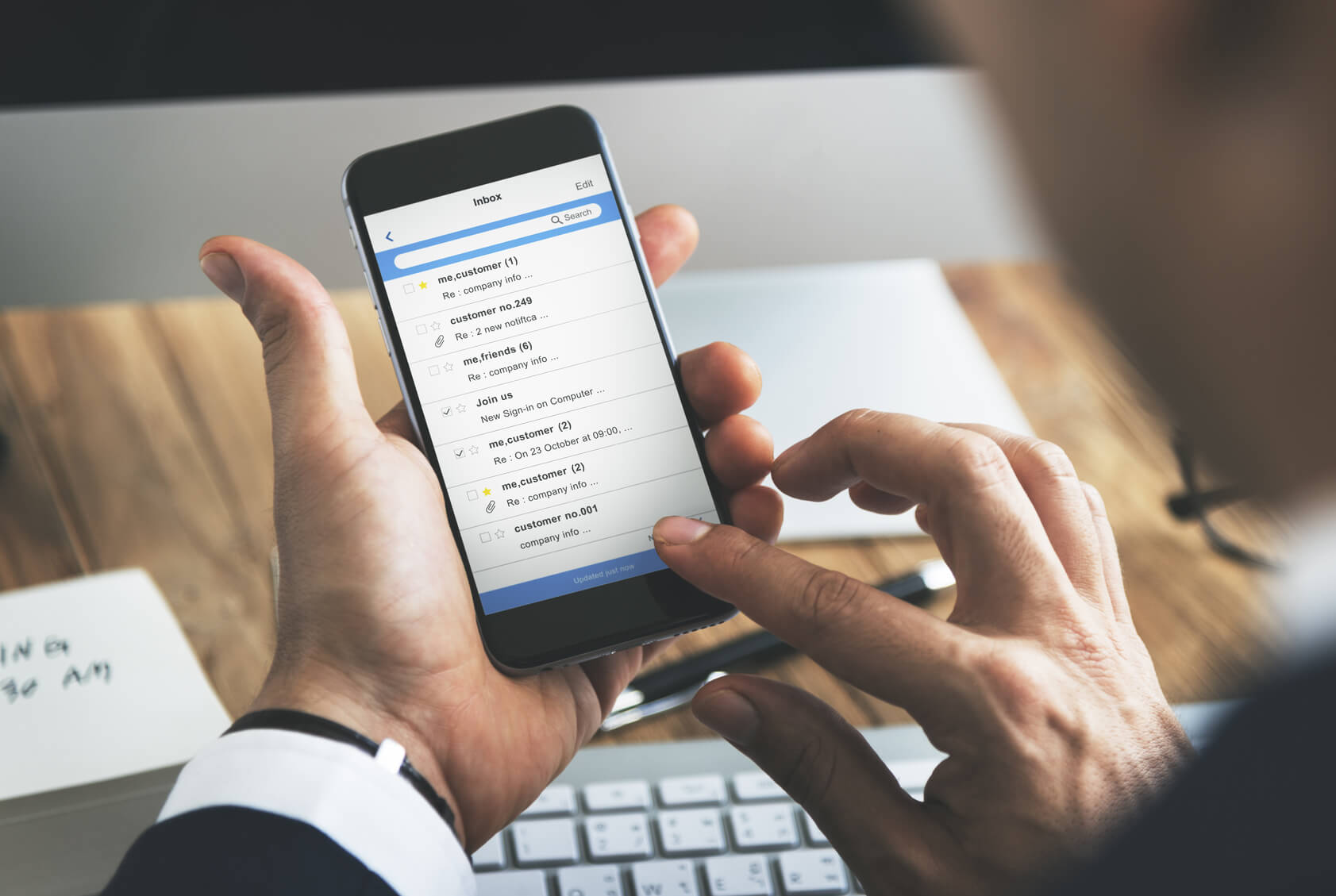 How to set up email account on a device
