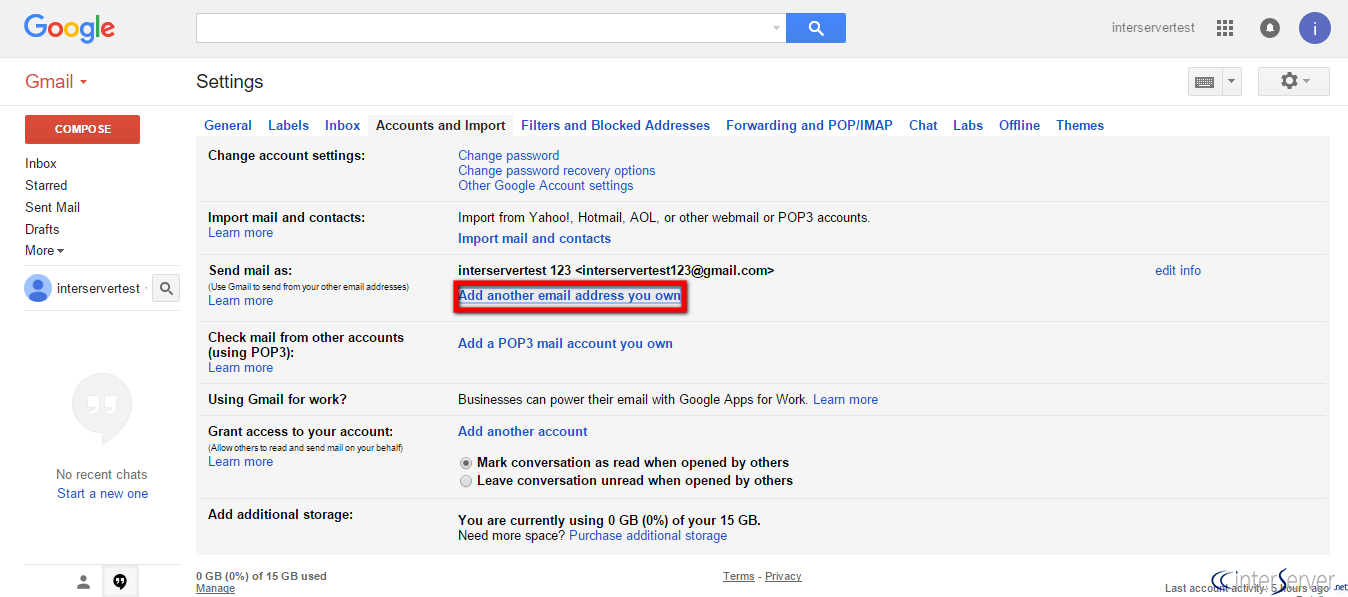 How to add domain email account into Gmail account